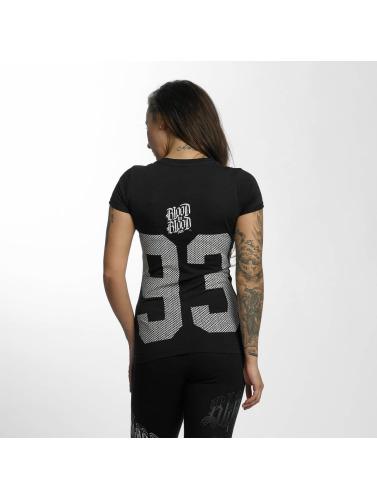 résistant à l'usure Le Sang Dans Le Sang Sur Mujeres Camiseta Logo Propre En Noir expédition faible sortie Livraison gratuite 2014 officiel acheter fsWnIdjo4J