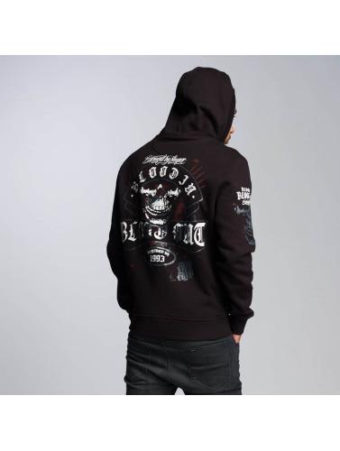 2014 à vendre Blood In Blood Out Sweat-shirt Fermeture Éclair Sonore Hommes En Noir vente ebay pas cher 2015 original à jour wJEYbiSuUw