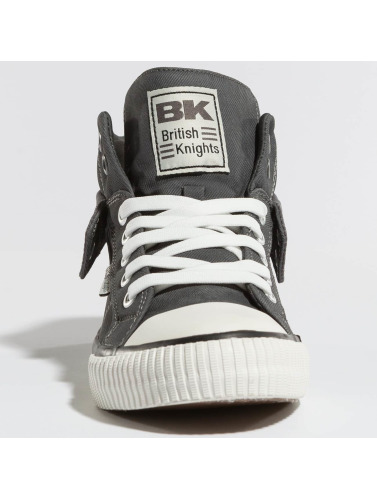 Chevaliers Britanniques Baskets Hommes En Gris Roco vente images footlocker DVOes
