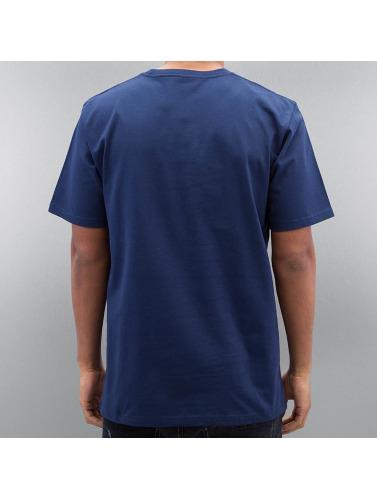 Livraison gratuite profiter amazone en ligne Hombres Carhartt Wip Camiseta Chase Azul commercialisable à vendre WVpddCD
