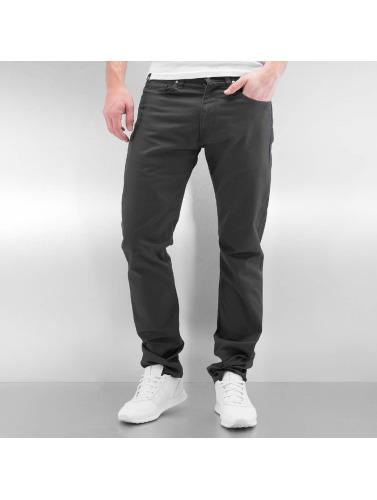 Carhartt Wip Hommes En Jeans Noir Droit Vicieux