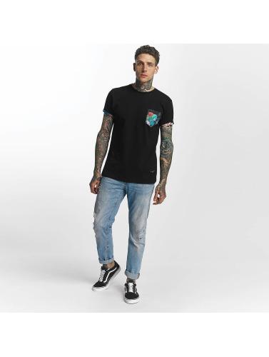 Hombres Dommages Criminels Camiseta Prairie Poche Negro de Chine à bas prix afin sortie CV0JXN