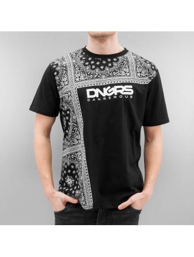 Camiseta Negro Dngrs Dangereux Hombres Linköping Y6fb7gy