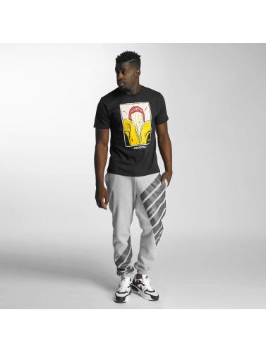 dernière à vendre parfait Dngrs Dangereux Hombres Camiseta Plus Profond Negro authentique en ligne QyIc0s9I