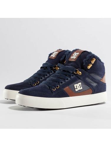 Hommes Dc Sneakers Spartiate Wc Haute Wnt En Bleu