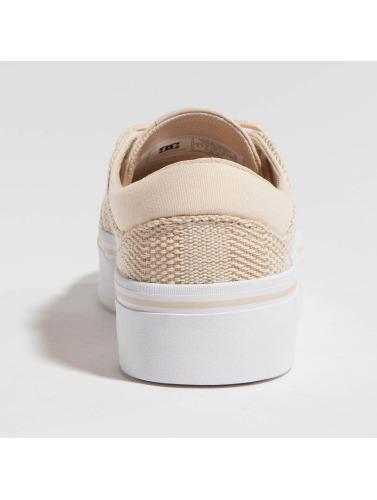 Dc Femmes Trase Sneakers Plate-forme Est En Beige Tx vente pas cher la sortie offres gNlZHnR8v