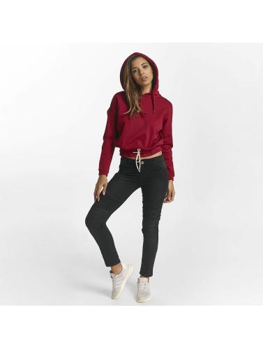 Def Femmes En Sweat-shirt Rouge Lire jeu avec paypal JiQ8r9Cxh