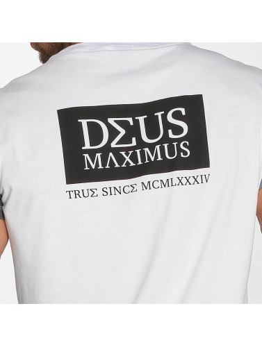 Deus Maximus Fides Hommes En Blanc rabais pas cher n1bow