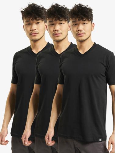 Plastrons Hombres Camiseta V-cou 3er-pack Negro pas cher 2014 bqRjqayu3