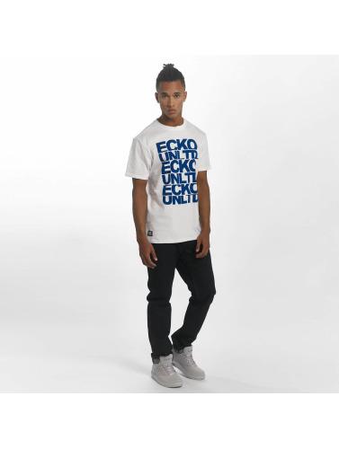 clairance excellente avec mastercard vente Ecko Unltd. Ecko Unltd. Hombres Camiseta Fuerteventura In Blanco Le Fuerteventura Des Hommes En Blanc réduction de sortie professionnel vente k6Q0cvTD