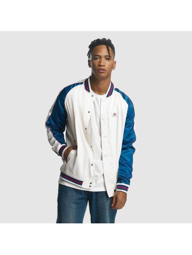 Ecko Unltd. Ecko Unltd. Hombres Chaqueta De Béisbol College Jacket In Blanco Hommes Veste Baseball Collégial Veste En Blanc magasin pas cher vente site officiel nouveau style Livraison gratuite parfaite à la mode L4yqp