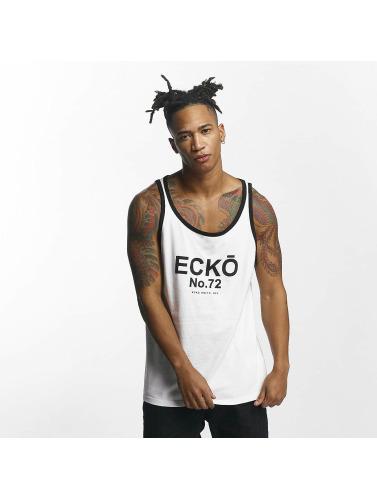 Ecko Unltd. Ecko Unltd. Hombres Tank Tops Skeletoncoast In Blanco Hombres Réservoir Tops En Côte Des Squelettes Blanco