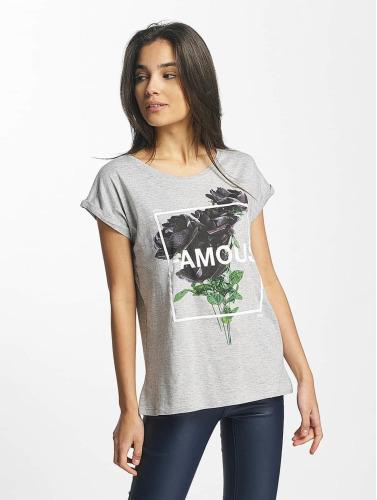 Famous Stars And Straps Mujeres La Vie Et La Mort Camiseta En Gris boutique pour vendre Wh25sspUp