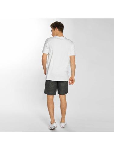 réduction Nice Hurley Hombres Camiseta Un Et Seulement Pousser À Travers Dans Blanco original jeu authentique 0tMDK