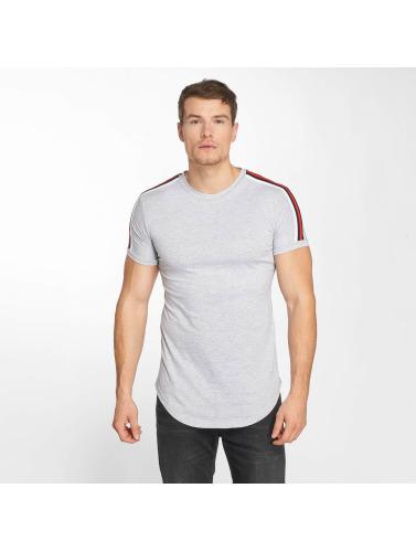 gros rabais John H Hombres Camiseta Bande En Gris Pré-commander braderie chaud CPBDS