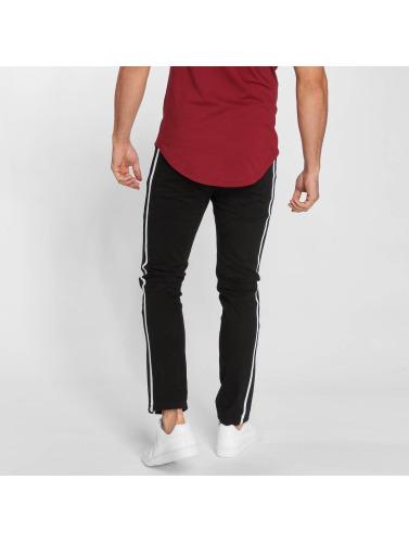 John H Logan Hommes Jeans Serrés En Noir vente pas cher Réduction avec mastercard parfait rabais Uf4ZWPZ