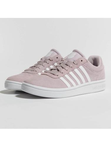 Chaussures De Sport K-swiss Femmes Cheswick Tribunal Rose Ingénieur De Conception se connecter braderie plein de couleurs grSuiq8lF