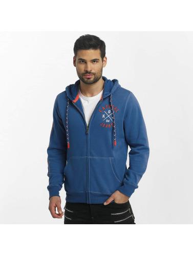super promos Kaporal Lazake Zip Pulls Molletonnés Hommes En Bleu super faire du shopping faire acheter PM1yt8m