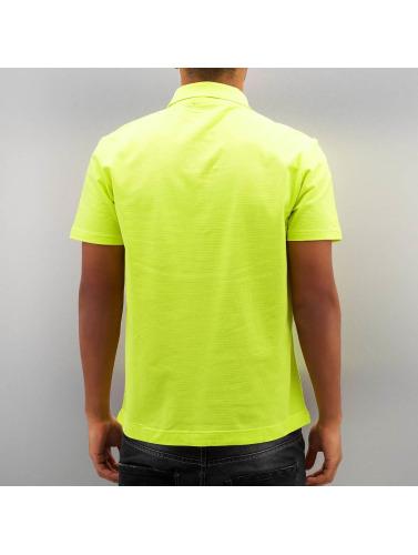 vente bas prix meilleur endroit Les Hommes De Base Lacoste Polo Shirt En Jaune faux pas cher rabais exclusif commande DuxozQyBm