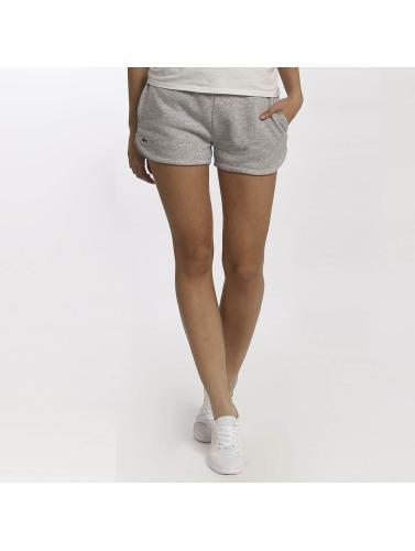 recommander à vendre Livraison gratuite véritable Femmes Lacoste Pantalons Courts Classiques En Gris réduction fiable populaire commande GHGMX