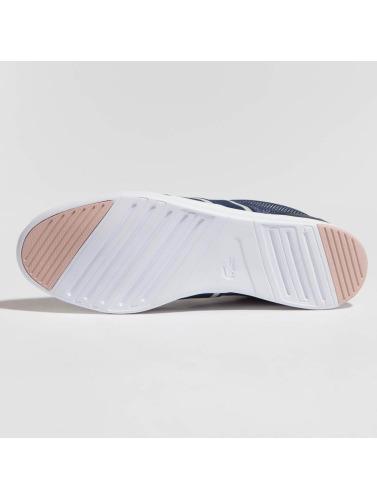 choix pas cher véritable jeu Les Femmes Chaussures De Sport Lacoste Glisser I En Bleu Avenir sortie Nice hxeHwz4CJ