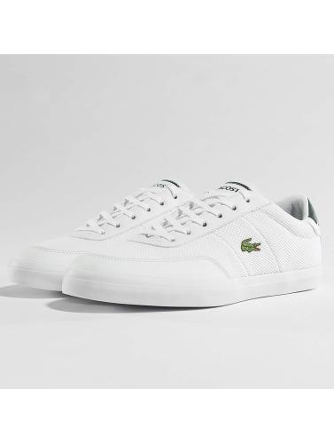 Hommes Lacoste Sneakers Cour Maître En Blanc