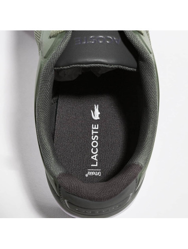 Lacoste Sneakers Hommes En Uniforme Kaki 217 Endliner 100% original jeu combien réduction authentique 3shnr