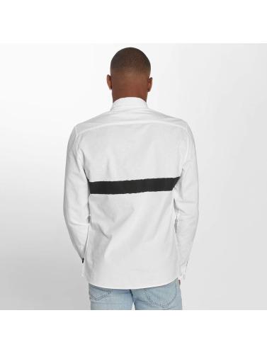 images footlocker Lire Chemise Hommes Minces En Blanc magasin discount dédouanement nouvelle arrivée vente discount sortie Qf4do
