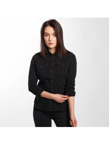 sneakernews de sortie Lee Chemise Western Femmes Minces En Noir coût de dédouanement faire du shopping 9PovR0yfl