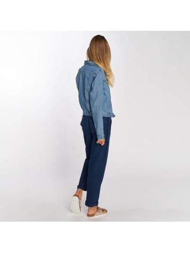 remise boutique en ligne Femmes Veste Lee En Cavalier Bleu Entretiempo réduction profiter HTZdCdIZrZ
