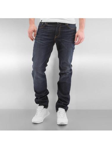 Hommes Lee Jeans Cavalier Droit En Bleu