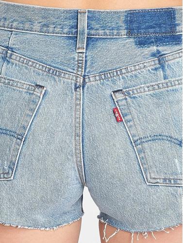 moins cher commande Femmes Levis® Courts Pantalons Short Zip Modifié En Indigo y585EUUX9