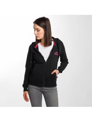 mode rabais style London Zip Lonsdale Sweatshirts Femmes En Noir Seagrave faux jeu Footaction rabais wiki à vendre VPyK7