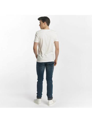 Mavi Jeans De Whitecore Hommes En Blanc Réduction de dégagement réal Réduction nouvelle arrivée recommander mS7HwtaOKU