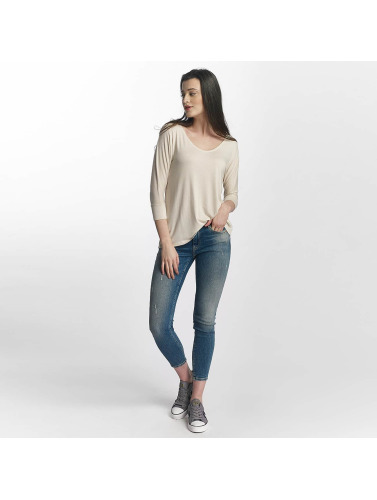 Mavi Jeans Manches Longues Zip De Base De Femmes En Blanc magasiner pour ligne jeu acheter profiter en ligne L2h9JZ