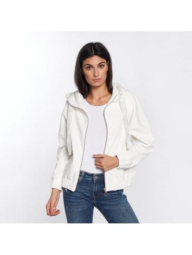 jeu acheter Mavi Jeans Fermeture Éclair Sweat Zip Femme En Blanc achat vente vente 2014 nouveau Y6rqXd7JJ