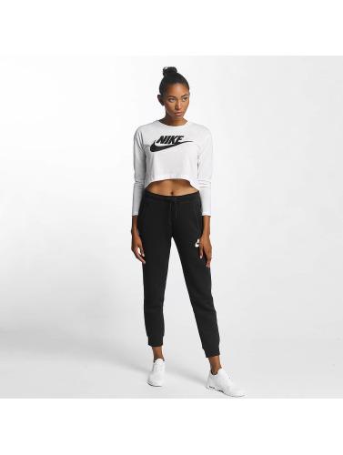 acheter à vendre réelle prise Chemise À Manches Longues Femmes Nike Hbr En Blanc Livraison gratuite nouveau 3Sffu