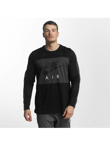 Manches Longues Nike Hommes En Noir Nsw
