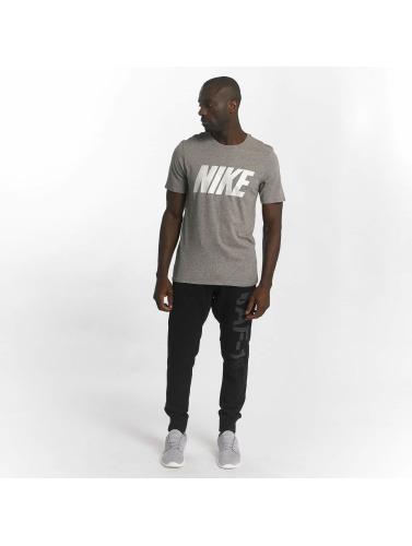 Nike Hombres Camiseta Sport En Gris où acheter TbDrcmwB