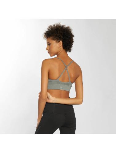 visitez en ligne vente Boutique Nike Femmes Performances Desportivo En Soutien-gorge Sans Couture Gris Clair xlDfeDqu2