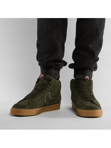 mode en ligne Nike Hommes Zoom Espadrilles En Blazer Brun Mi Livraison gratuite qualité qualité supérieure rabais LDbiA6Y