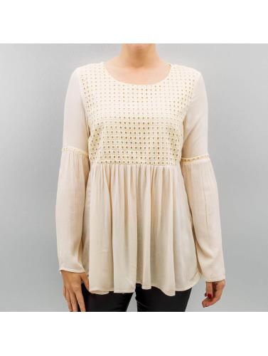 sortie en Chine professionnel à vendre Seules Les Femmes Chemise À Manches Longues En Onllupina Beige peu coûteux collections discount 0zh2GOtG