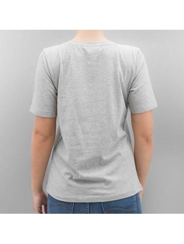 Seulement Mujeres Camiseta Onlfoil Impression En Gris le magasin dédouanement bas prix pas cher exclusive E9otpNxDx