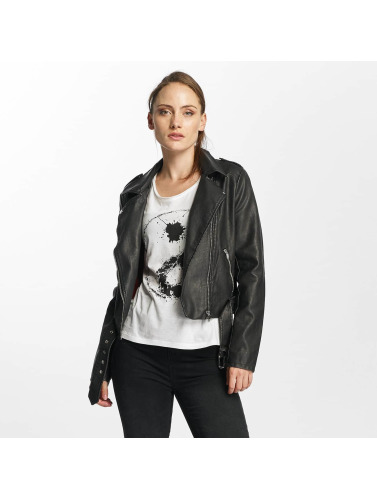 Seule Culture En Faux Cuir Femmes Veste Motard Onlluna Entretiempo En Noir super promos PGuCD5Vj