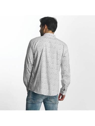 Nouveau Paris Prime Sur Les Hommes De Chemise De Points En Blanc Réduction en Chine vente commercialisable 3A5uS