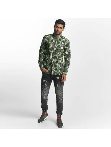 Prime Paris Chez Les Hommes Shirt Vert Camo prix incroyable sortie meilleurs prix rDXEJU4jaD