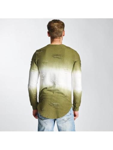 Paris Jersey Premium Deux Tons En Verde boutique en ligne vente classique 100% garanti offres en ligne EvnHOmE5k