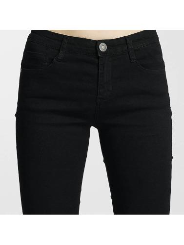 sites Internet sortie 2014 nouveau Paris Femmes Denim Premium Jeans Skinny En Noir toQMPwp