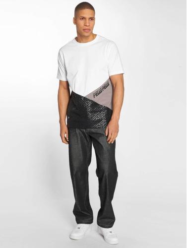 Cuir Hombres Camiseta Sayagata Pointeur Dans Blanco vente boutique pour w0Wrt