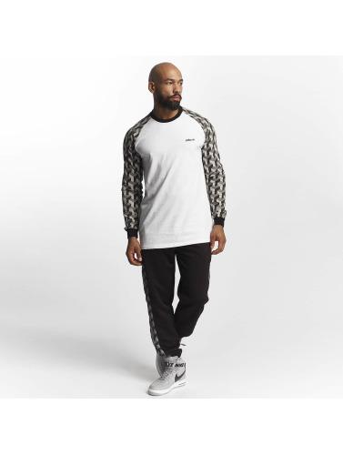 offres en ligne Pelle Pelle À Manches Longues Hommes Blockparty Icône En Blanc vente sortie LwbGril
